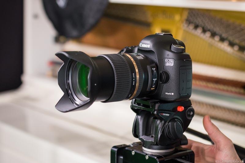 Captation vidéo canon 5D